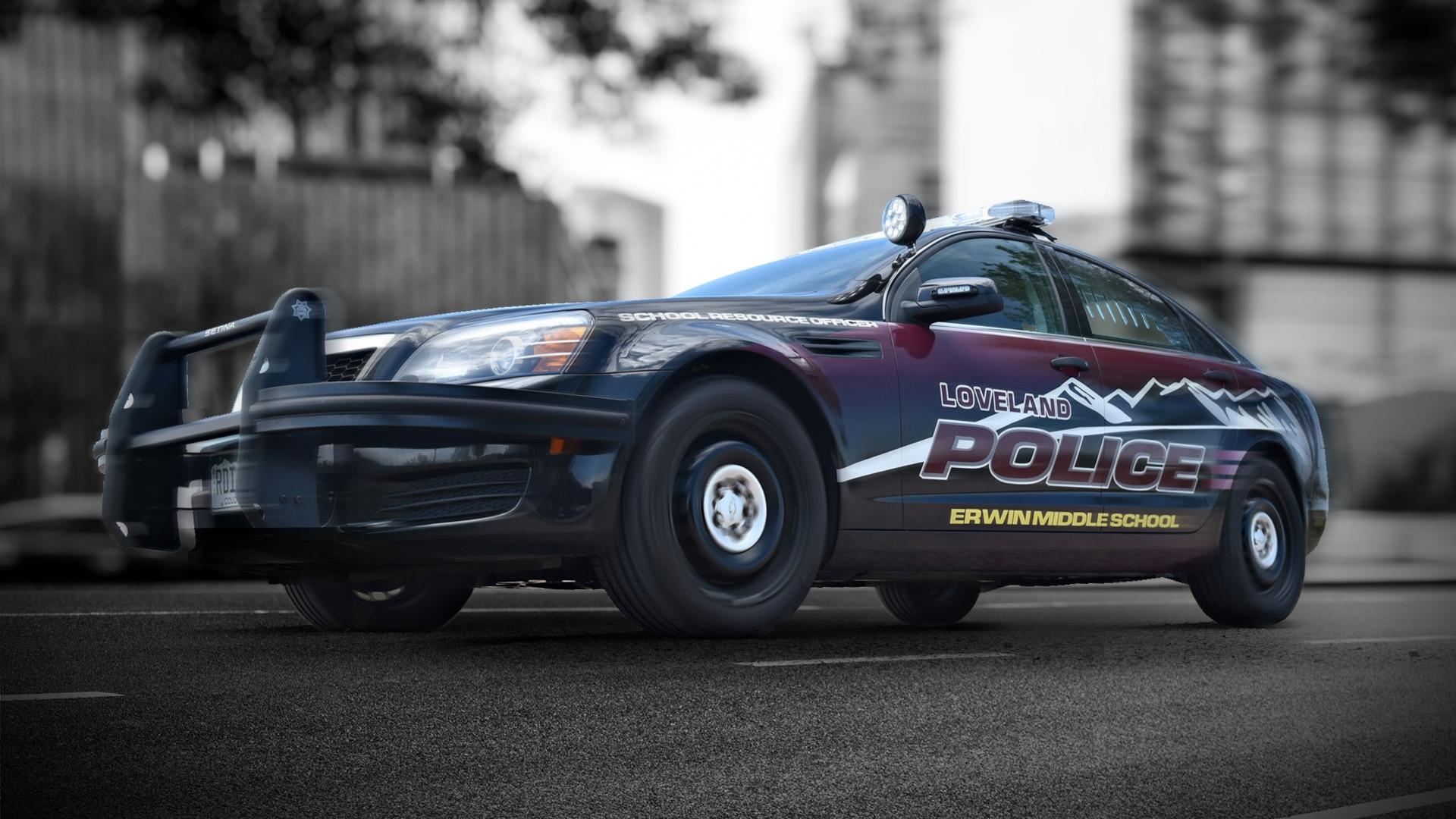Police Car Decals Amp Law Enforcement Graphics Svi Police