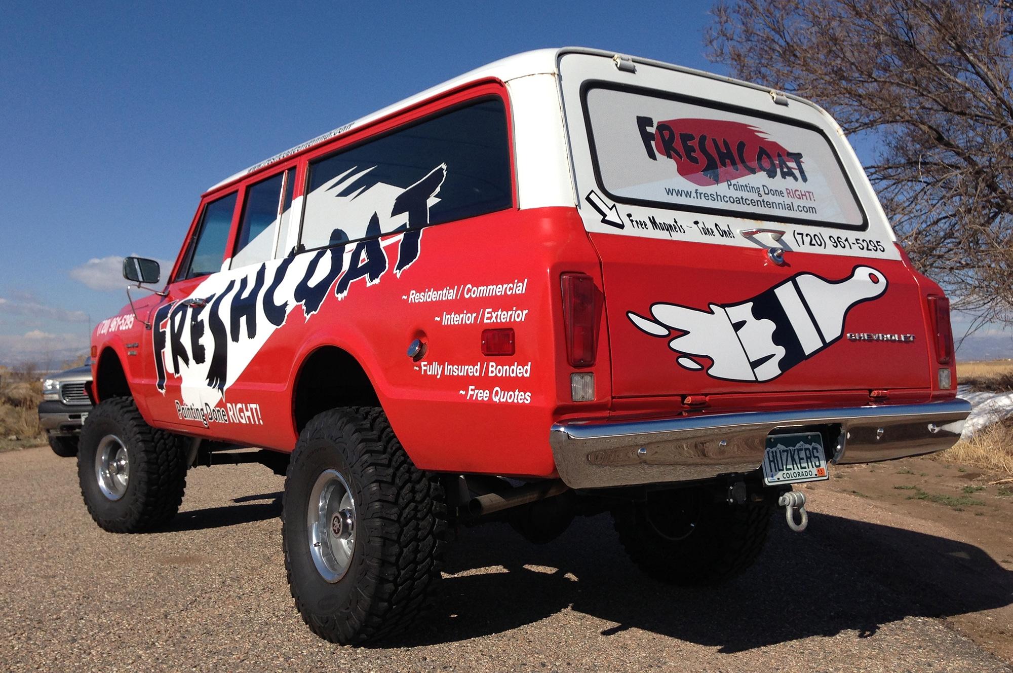 Commercial Vehicle Wraps Svi Graphics